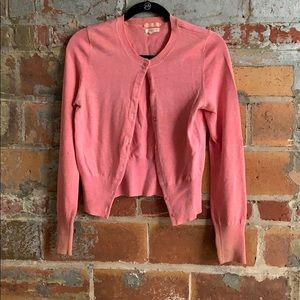 American Eagle Pink Cardigan